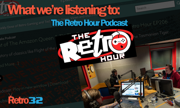 What we're listening to: The Retro Hour podcast