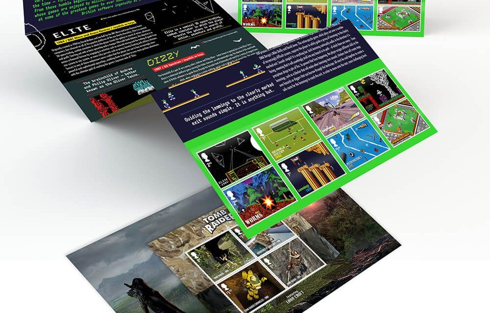 Royal Mail to release stamp bundle in celebration of UK designed video games