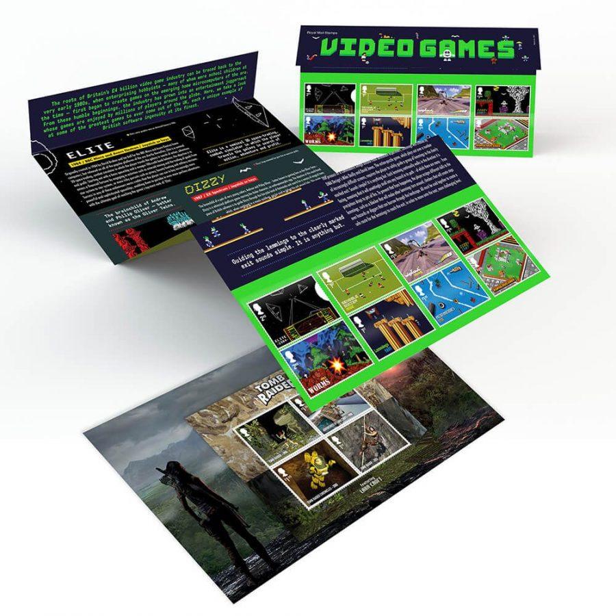 Royal Mail to release stamp bundle in celebration of UK designed video games