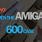 How to open an Amiga 600 case