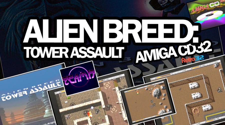 Alien Breed: Tower Assault – Team17 – Amiga CD32 (AGA)