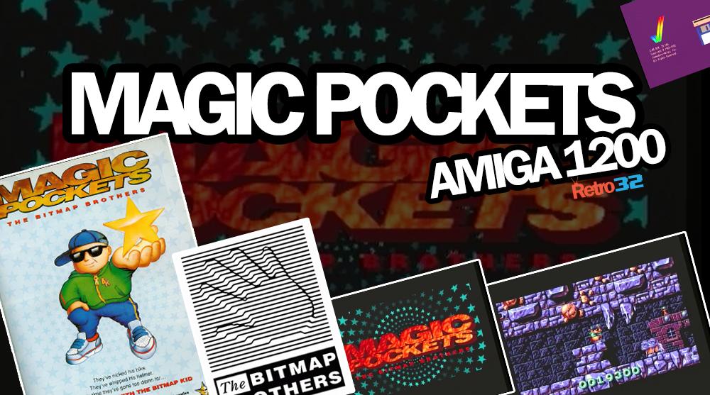 Amiga 1200 – Magic Pockets:  Level 1 game play video