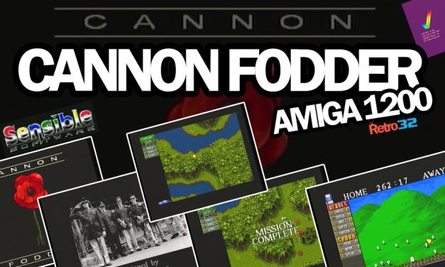 Cannon Fodder – Amiga 1200 – Sensible Software 1993