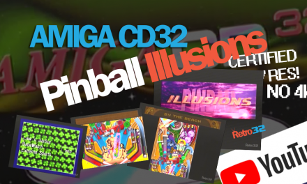 Amiga CD32 Pinball Illusions video & gameplay