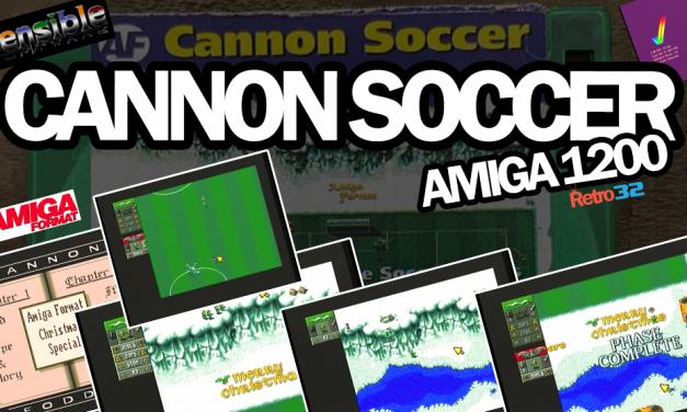 Cannon Soccer – Amiga 1200 – Amiga Format Coverdisk (54b) – Sensible Software
