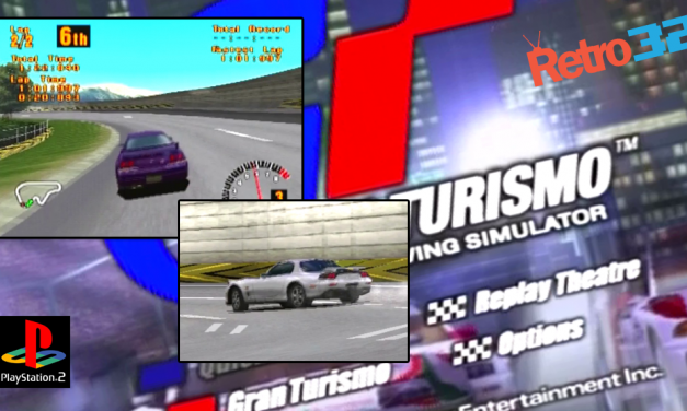 Granturismo 1 PlayStation 1 – Intro & game play video