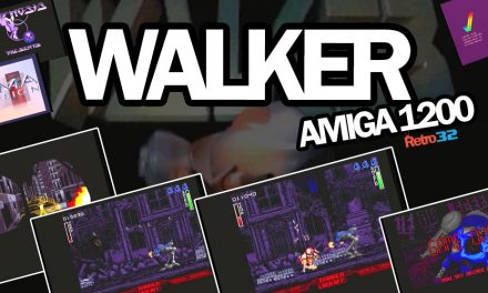 Walker  – Amiga 1200 – DMA Design / Psygnosis 1993 – Level 1