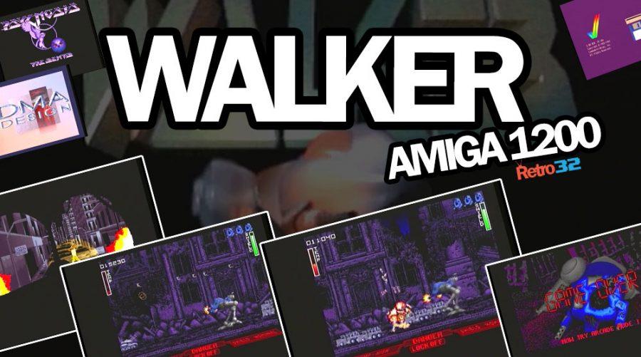 Walker  – Amiga 1200 – DMA Design / Psygnosis 1993 – Level 1