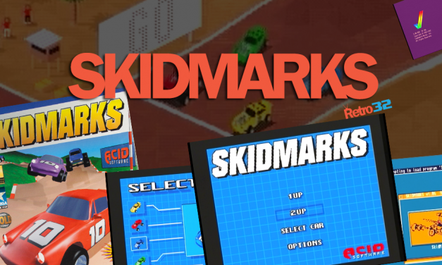 SKIDMARKS by Acid Software – AGA Car Disk – Track Disk 1 – Amiga 1200