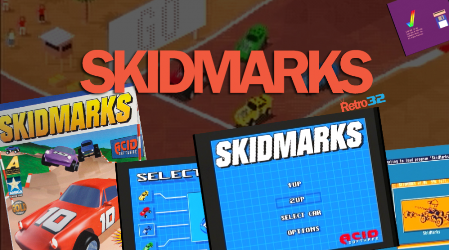 SKIDMARKS by Acid Software – AGA Car Disk – Track Disk 1 – Amiga 1200
