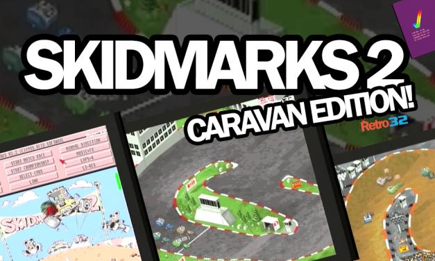 Skidmarks 2 Caravan Edition on the Amiga1200 (AGA Hi-Res)