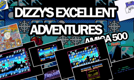 Dizzy's Excellent Adventures – Kwik Snax – Codemasters 1992 – Amiga 500 – Easter Game!