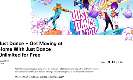 One Free Month of Just Dance Unlimited on Just Dance 2020