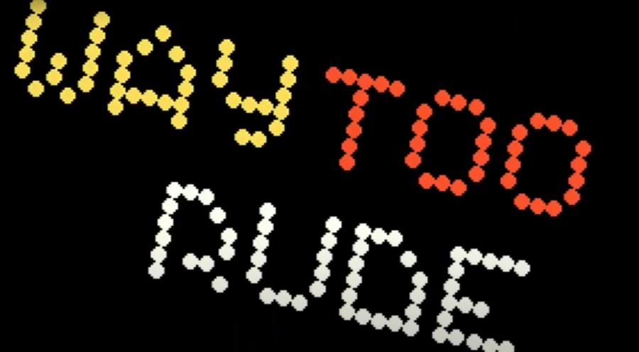 Logicoma and Loonies – Way Too Rude (Amiga 64kb Demo) – Revision 2020