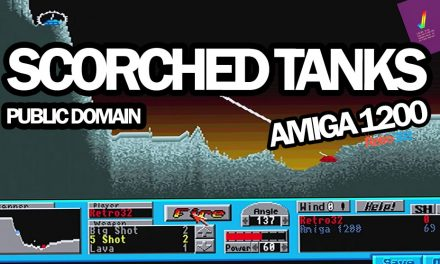 Scorched Tanks V1.90 – 1994 Dark Unicorn – Amiga Public Domain Game