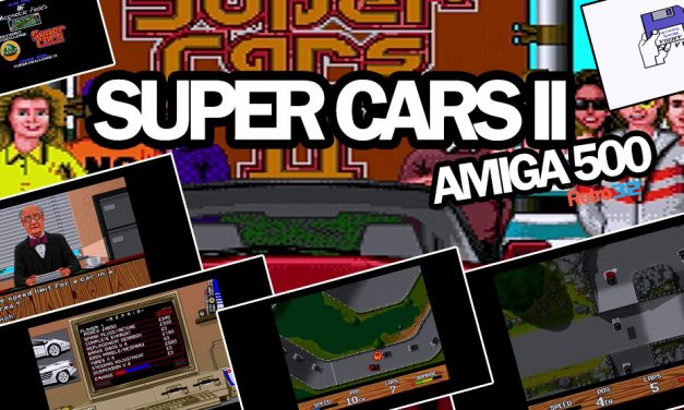 Super Cars II – Magnetic Fields / Gremlin 1991 – Amiga 500 Commodore