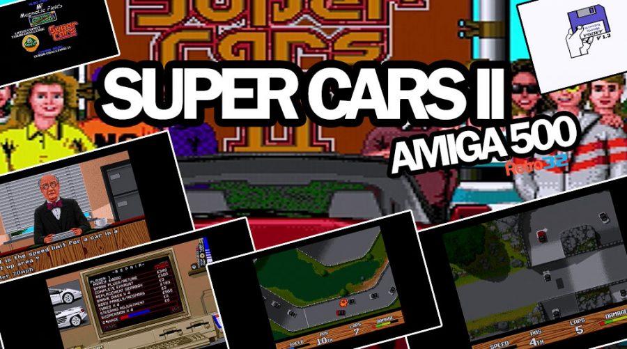 Super Cars II – Magnetic Fields / Gremlin 1991 – Amiga 500 Commodore