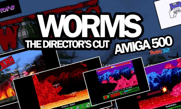 Worms – The Director's Cut – Team 17 Ocean 1997 – Amiga 500