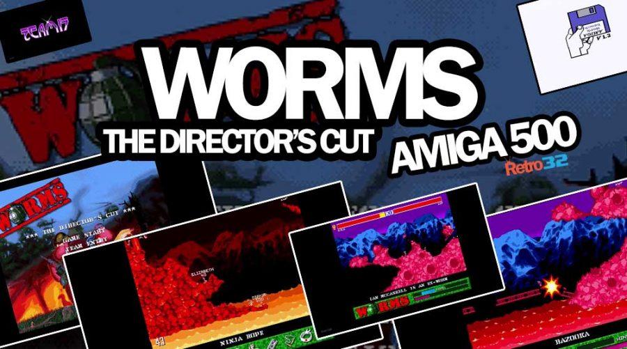 Worms – The Director's Cut – Team 17 Ocean 1997 – Amiga 500