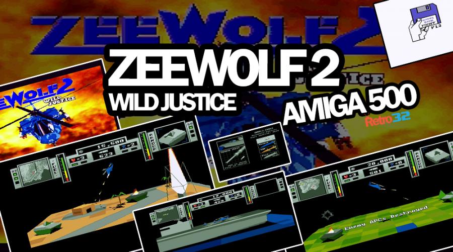 Zeewolf 2 Wild Justice – 1995 Binary Asylum – Amiga 500