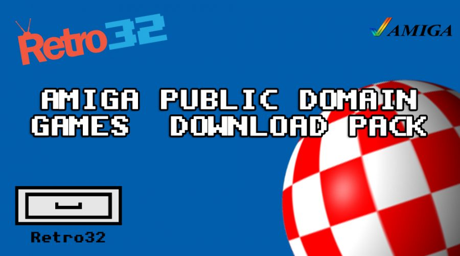 Amiga Public Domain PD Games Download pack ADF