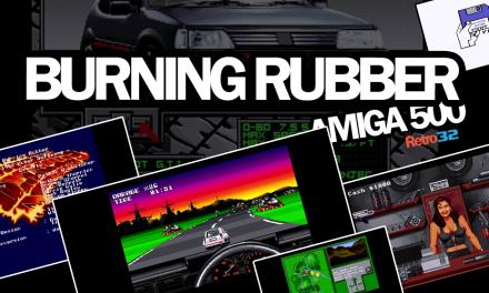 Burning Rubber – Amiga 500 – 1993 Harlequin / Ocean Software