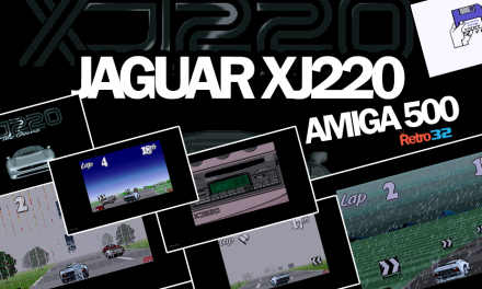 Jaguar XJ220 – 1992 Core Design  – Amiga 500