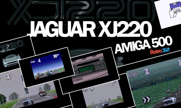 Jaguar XJ220 – 1992 Core Design  – Amiga 500