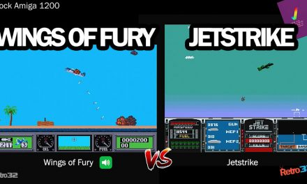Amiga: Wings of Fury VS Jetstike – The side shooter shootout!