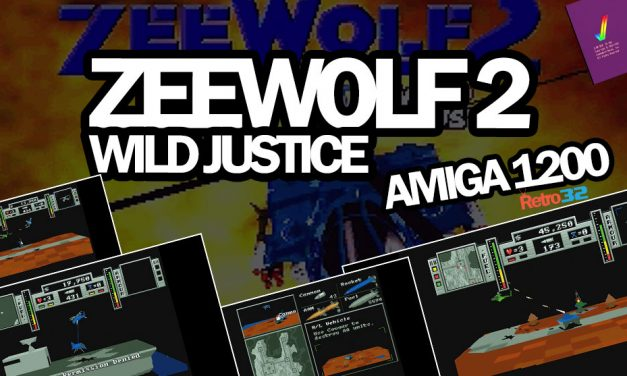 Zeewolf 2 Wild Justice – 1995 Binary Asylum – Amiga 1200