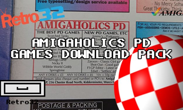 AMIGAHOLICS PD Public Domain Games Download Pack (ADF) GOTEK