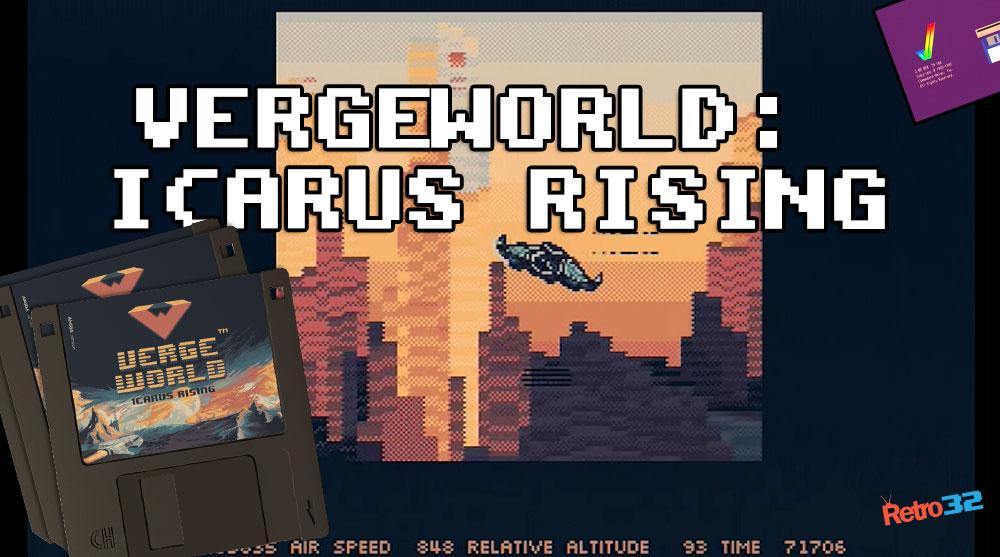 VergeWorld: Icarus Rising Demo – Retro Bones Amiga 1200 8MB (ossc)