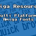 Multi Platform Amiga Fonts v1.02 download – (Ascii Truetype ttf)