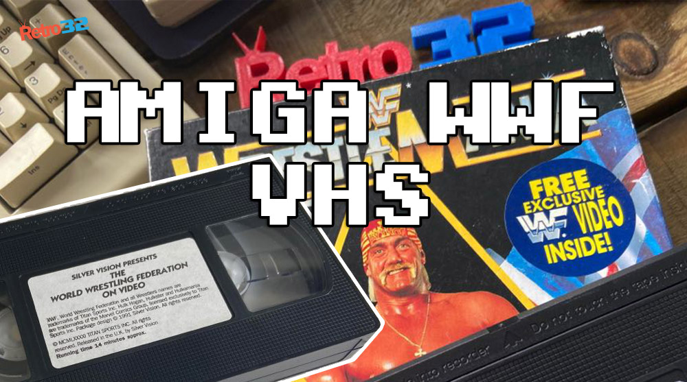 WWF WrestleMania (1991) VHS – Bundled Video with WWF Amiga Game