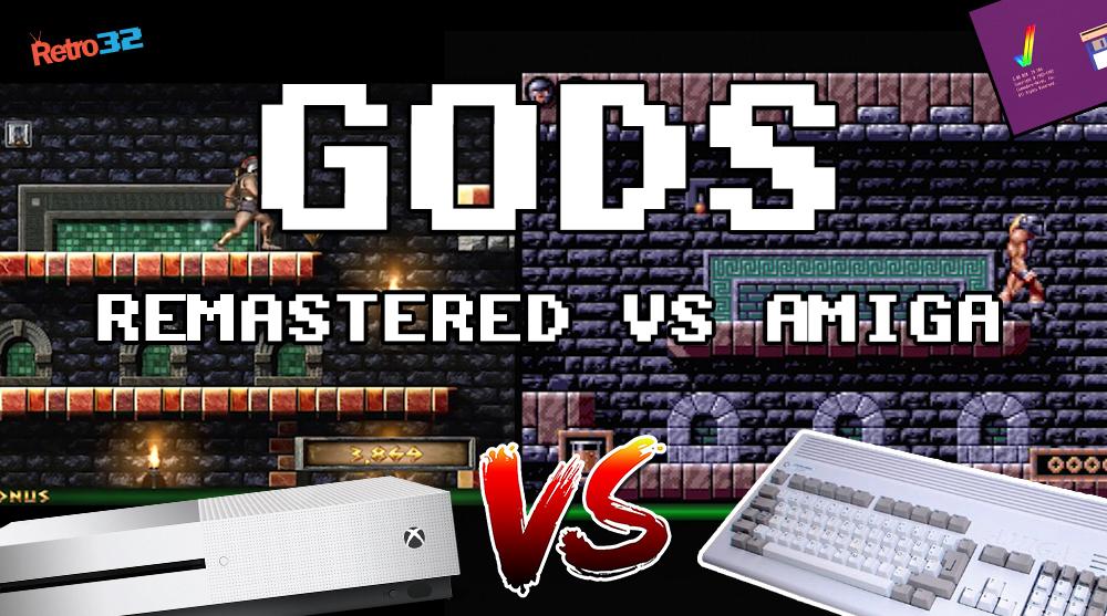 GODS Remastered 2018 (Xbox One S) VS GODS Amiga – 1991 Bitmap Brothers (Amiga 1200)