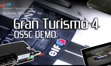 Gran Turismo 4 Intro – PlayStation 2 Open Source Scan Converter (OSSC) Demo (PAL)