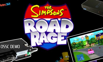 Simpsons Road Rage – PlayStation 2 – PS2 OSSC – Radical Entertainment / EA 2001