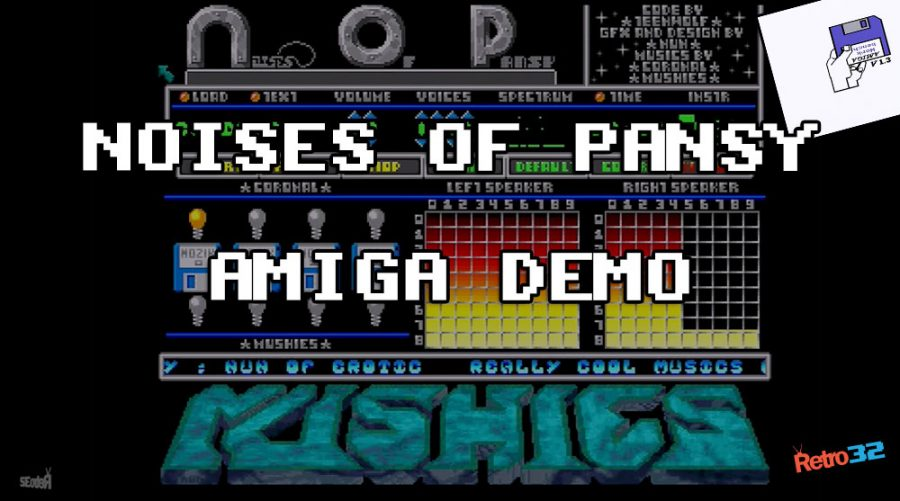Noises of Pansy – 1991 Exit & Erotic  – Amiga Demo Demoscene – OSSC