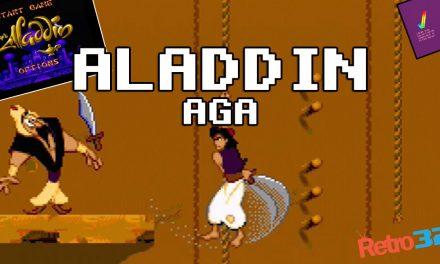 Aladdin (AGA)- Virgin Games 1993 – Amiga 1200 – OSSC