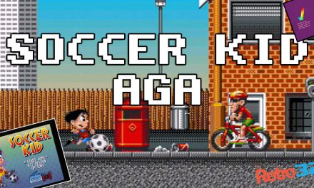 Soccer Kid AGA – 1993 Krisalis Software – Amiga 1200 – OSSC