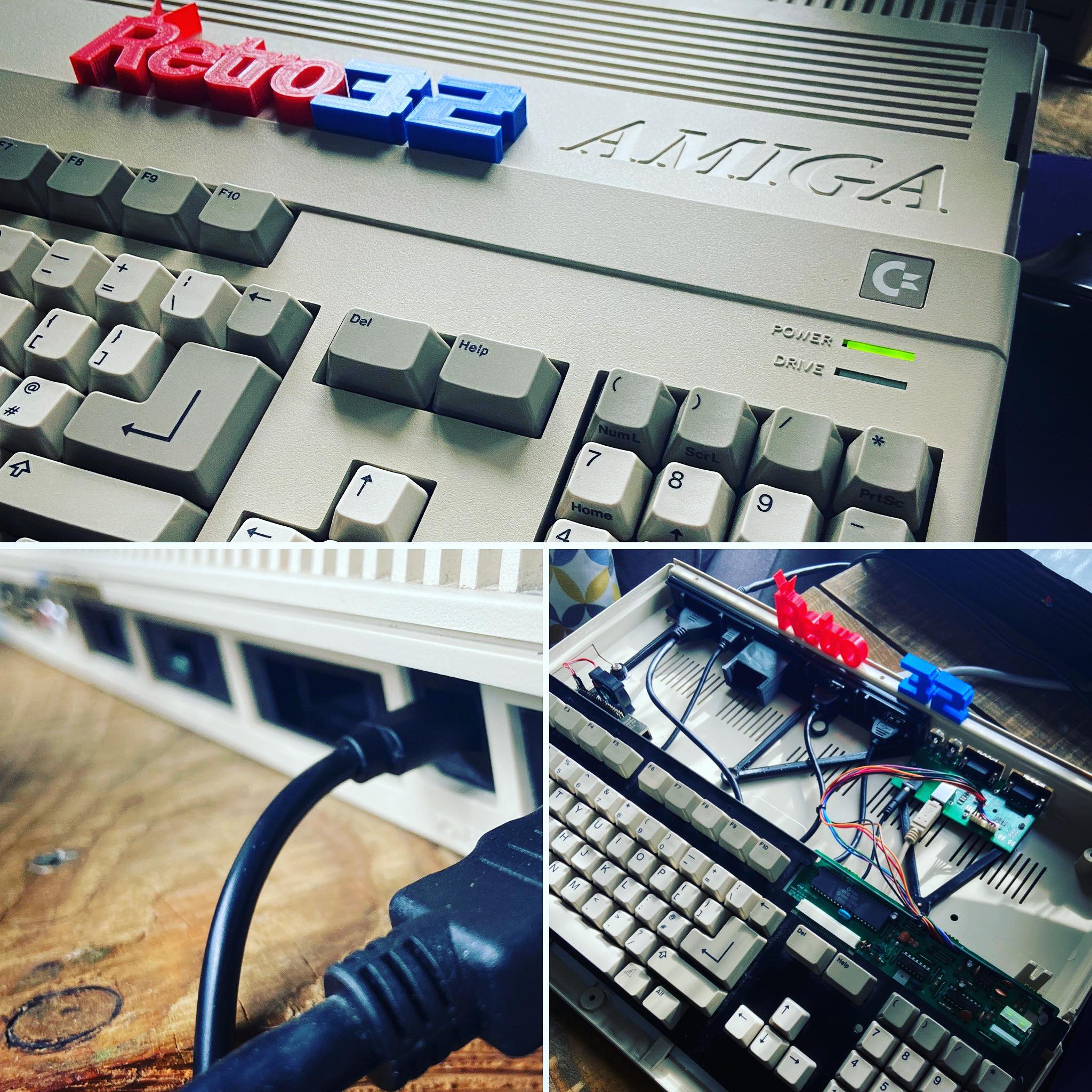 STAFF PROJECT: Amiga 500 Raspberry PI Build: Amibian / Amiberry  – hardware build