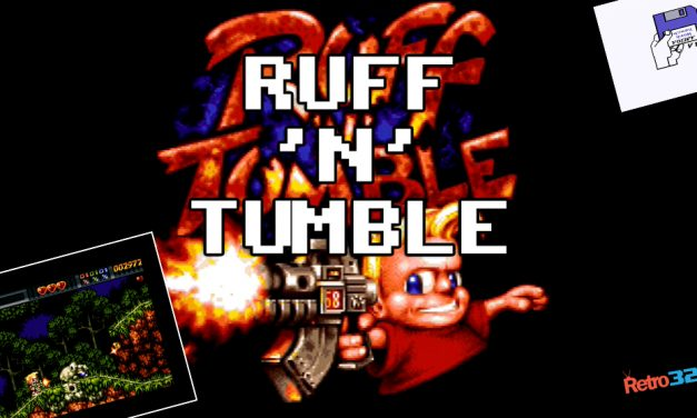 Ruff 'N' Tumble – 1994 Wunderkind / Renegade Software – Amiga 500