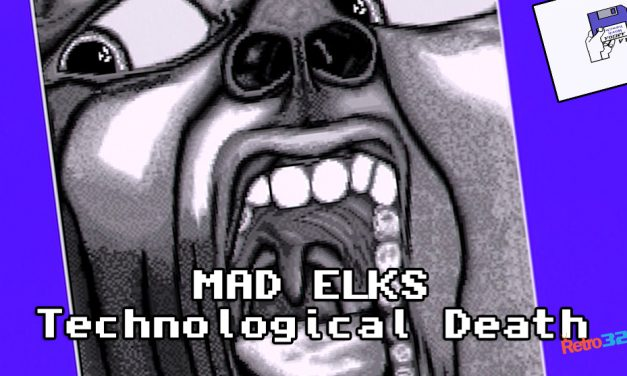 "Mad Elks – Technological Death – Amiga demo Demoscene – A500 OSSC (NOT EMULATION) 1993 ""XTD"""