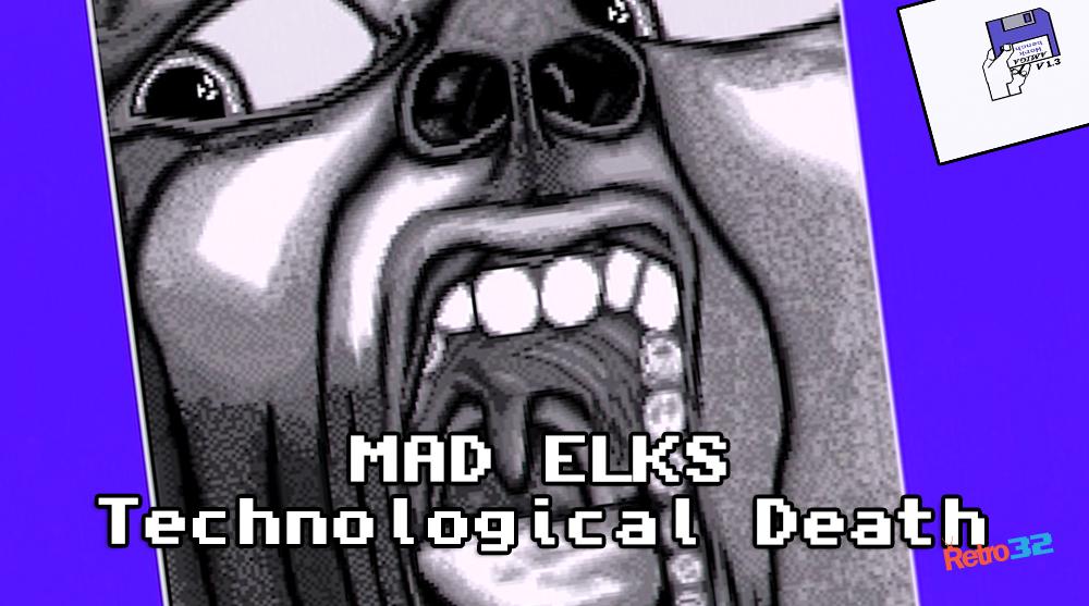 "Mad Elks – Technological Death – Amiga demo Demoscene – A500 OSSC (NOT EMULATION) 1993 ""XTD"""