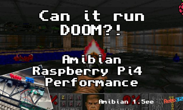 How fast is a Raspberry Pi4 Amiga? Can it run Doom?! Amibian / Amiberry