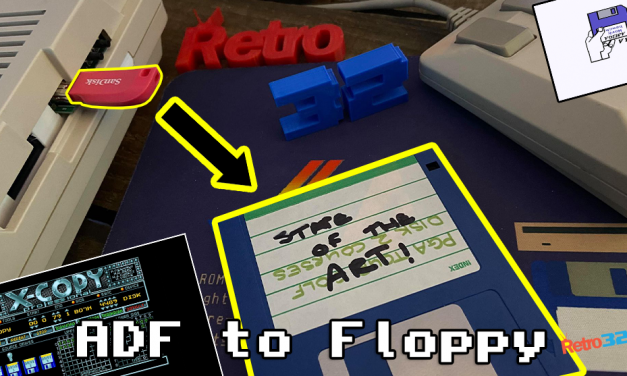 Amiga ADF to floppy using X-COPY, GOTEK & external drive