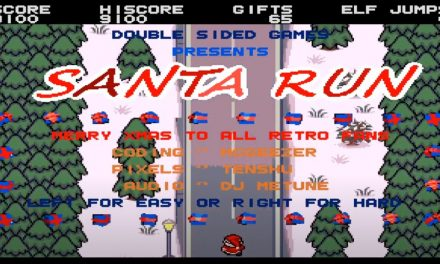Double Sided Games presents Santa Run – now available for free download (Amiga Game)