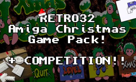 Retro32 Christmas Amiga Games Pack 2020 & Competition