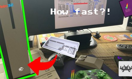 Amiga on the Xbox One S – Just how fast is it?! SysInfo – RetroArch PUAE Emulation (A4000/040)