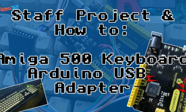 Staff Project: Amiga 500 Keyboard USB Interface – Arduino / Amibian / Amiberry
